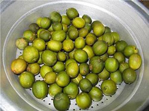 لیمو ترش ها را آبکشی کنید