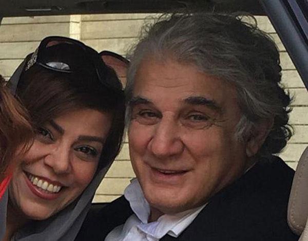 مهنوش صادقی و همسرش مهدی هاشمی