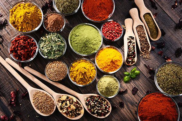 گیاهان دارویی و ادویه جات حاوی آنتی اکسیدان