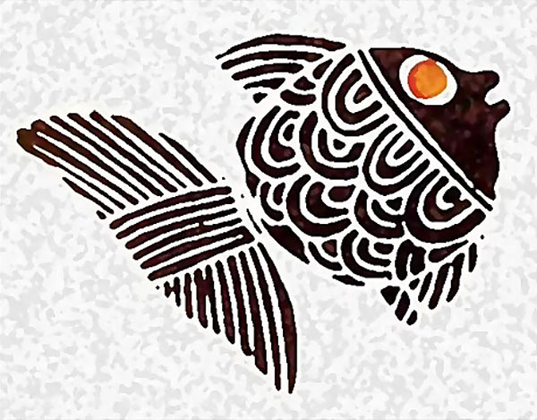 عکس ماهی سیاه کوچولو