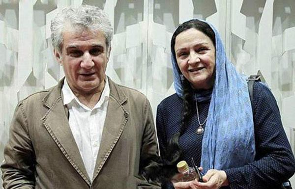 گلاب آدینه و همسرش مهدی هاشمی