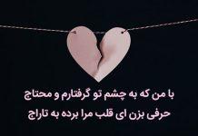 بهترین اشعار عاشقانه فاضل نظری