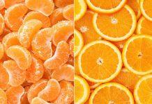 تفاوت نارنگی با پرتقال
