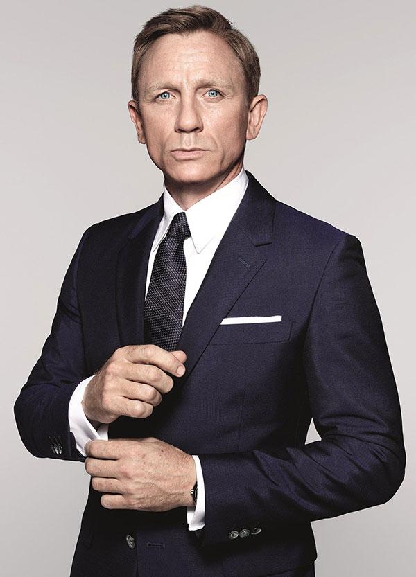 دنیل کریگ در نقش جیمز باند