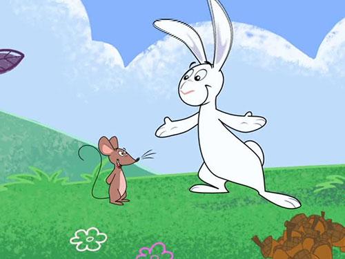 شعر یه روز آقا خرگوشه رسید به بچه موشه