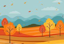 انشاء در مورد صدای باد پاییزی
