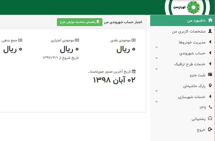 سایت تهران من