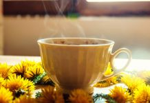 طرز تهیه چای گل قاصدک