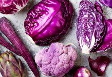فواید سبزیجات بنفش رنگ