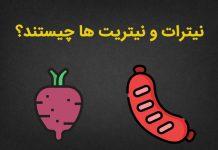 نیترات و نیتریت در مواد غذایی