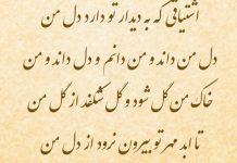 اشعار عاشقانه مولانا گنجور