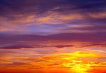 انشا در مورد غروب آفتاب به زبان عادی