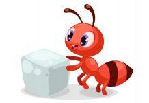 انشا مورچه بارکش