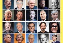 رده بندی پولدارترین افراد جهان