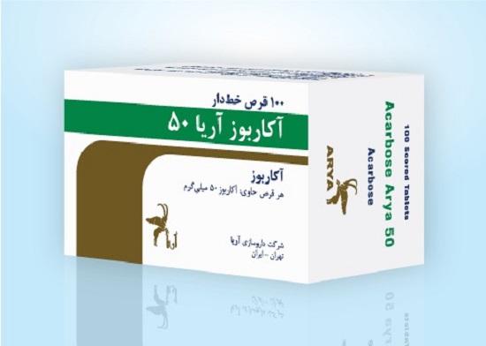 موارد منع مصرف آکاربوز