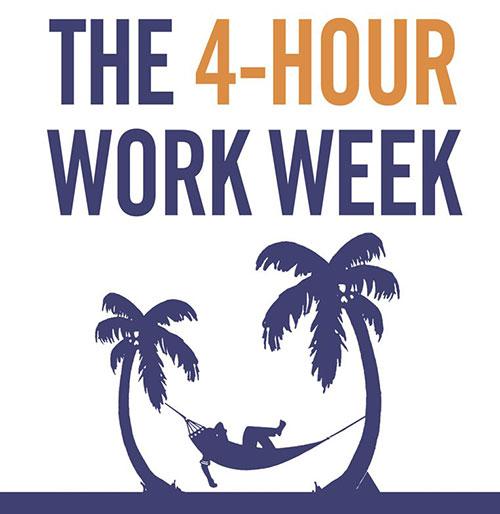 کتاب هفته ای فقط چهار ساعت کار