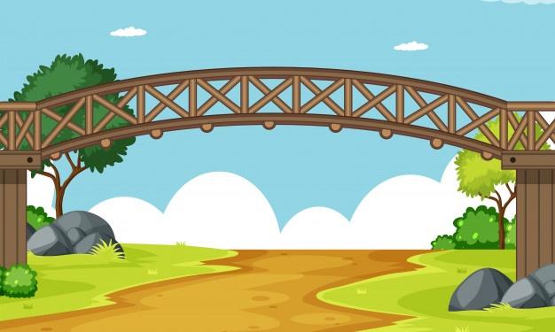 معمای عبور قاطر از روی یک پل