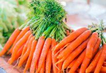 میزان کالری و قند و پروتئین یک عدد هویج