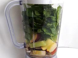 طرز تهیه آب اسفناج، کرفس و سیب