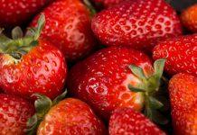 جدول ارزش غذایی توت فرنگی