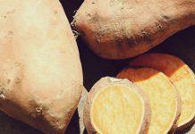 عکس و ارزش غذایی سیب زمینی شیرین