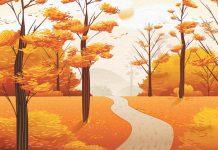 تعریف خصوصیات فصل پاییز برای بچه ها