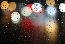انشا درباره آسمان شب بارانی