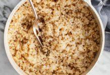 آیا برنج قهوه ای لاغر کننده است؟