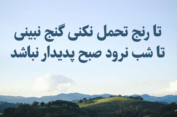 شعر ناب و کوتاه ادبی